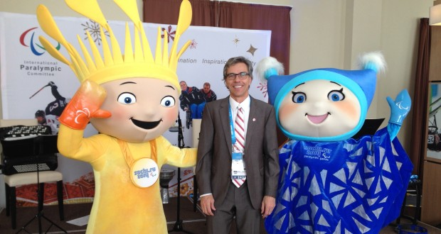 Gaetan & mascots